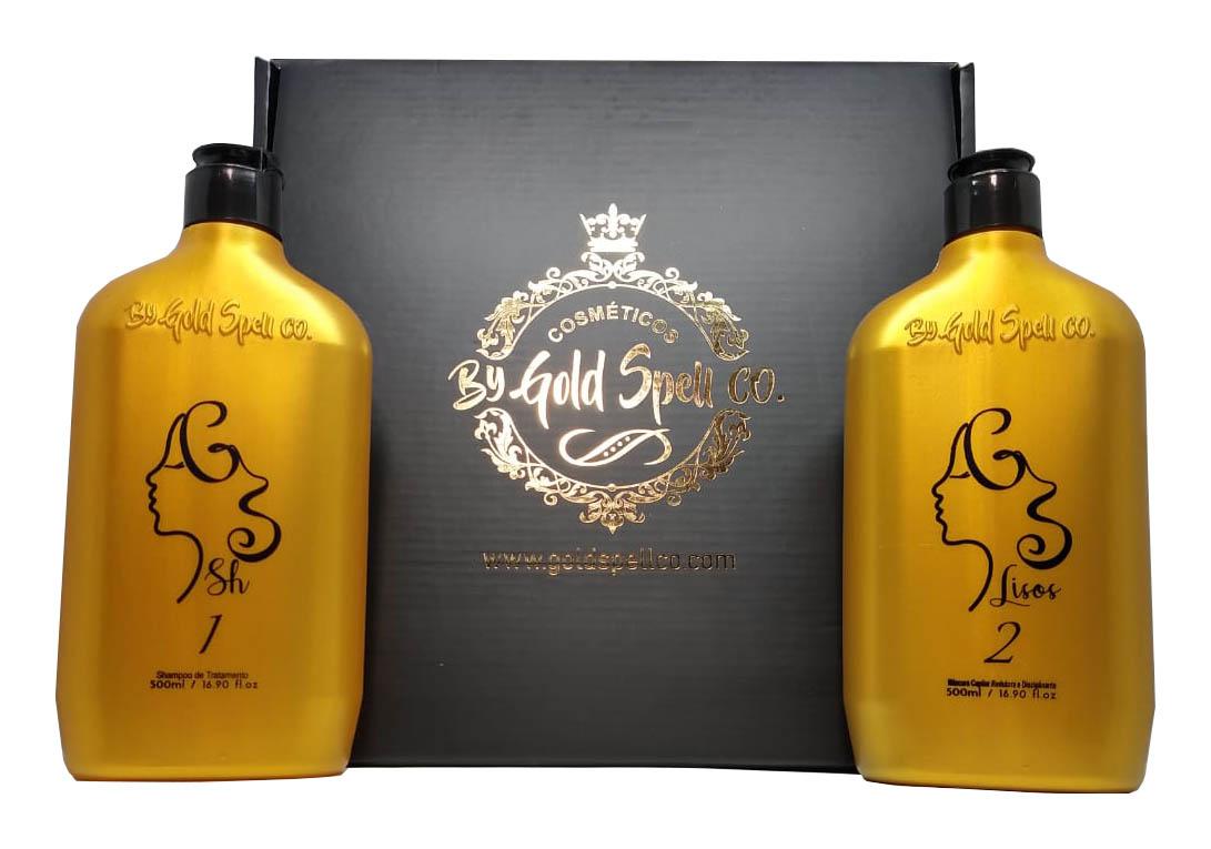 Exclusivo: Gold Spell Cosméticos Liso – A Liso voltou!